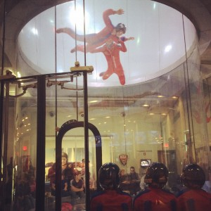 Skydiving at iFLY!