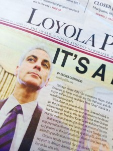 Loyola's Phoenix Newspaper