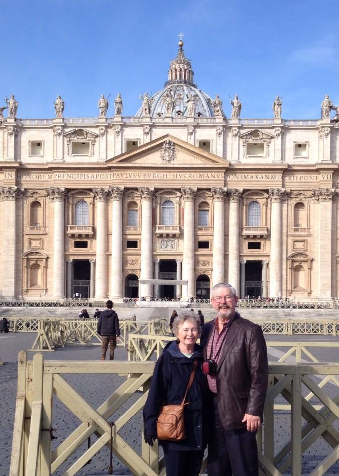 Grandma and Grandpa Swanson do Roma