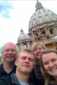 Holy Week, The Family, The Eternal City