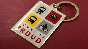 Commuter Proud Keychain - UPDATED