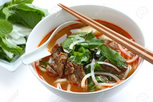 14624122-bun-bo-hue-a-bowl-of-beef-rice-vermicelli-soup-vietnamese-noodle-cuisine-Stock-Photo