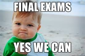 Finals are Approaching!