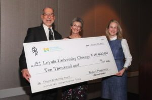 Loyola Wins The 2016 Climate Leadership Award