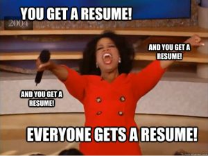 Have No Fear, Resume Tips Are Here!