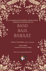 Band Baja Baarat: Loyola PSA's Mock Wedding