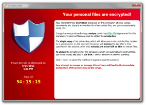CryptoLocker Virus Hits Hard