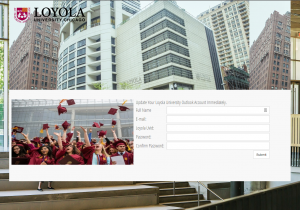 """Loyola Career Center"" Phishing Scam – July 25, 2017"